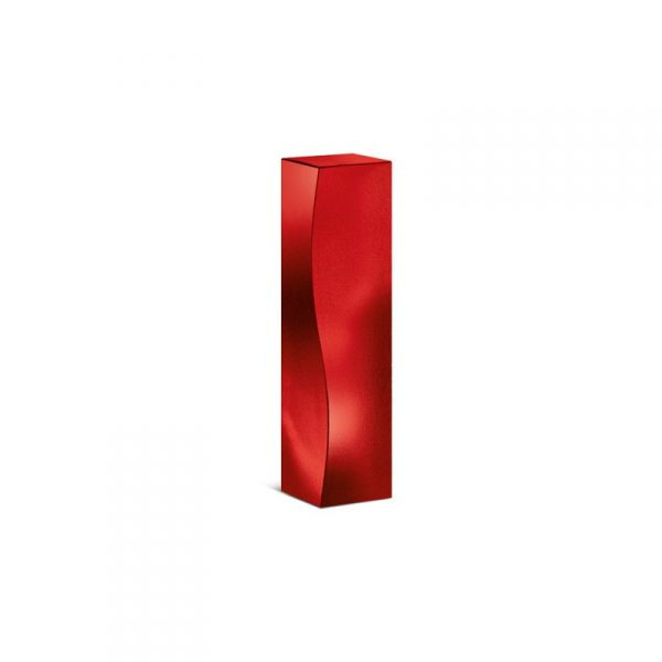 karton-1er-f-skulptur-rot-metallic